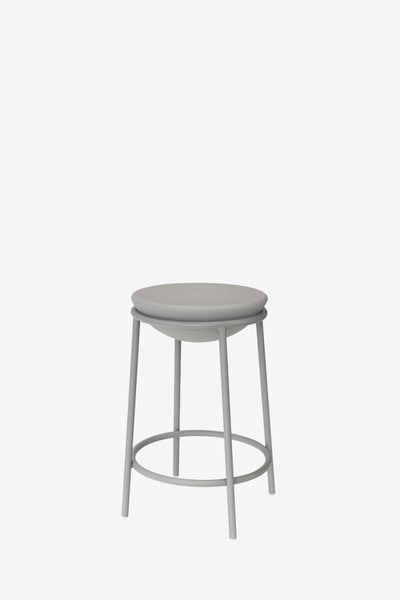 terry bar stool low