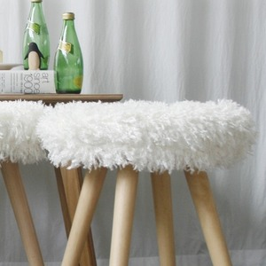 lamb stool cover